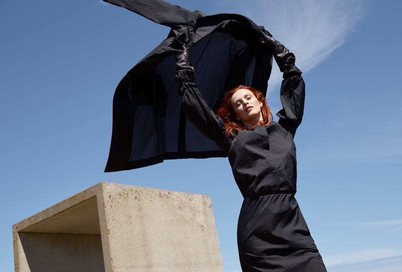 Karen Elson is A Vision in COS Fall 2018 Campaign