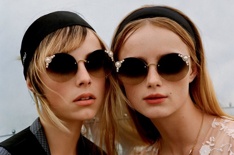 Sun Gazing: Miu Miu's Manière Sunglasses Are Beyond Glam