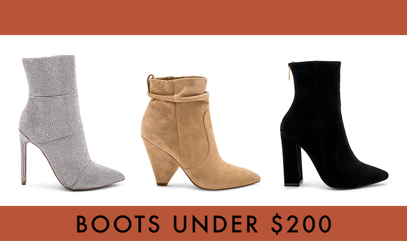 8 Affordable Booties Under $200