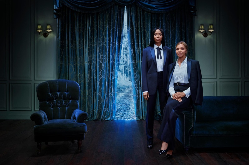 Naomi Campbell and her mother Valerie Morris Campbell front Burberry Christmas 2018 campaign