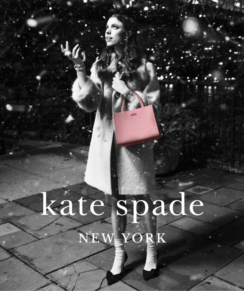 Kate Spade unveils Holiday 2018 campaign with Margaret Qualley