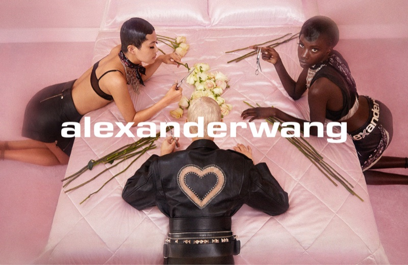 Brianna Capozzi photographs Alexander Wang Collection 1 Drop 2 campaign