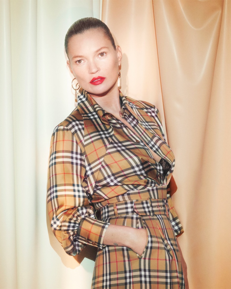 Kate Moss stars in Vivienne Westwood x Burberry campaign