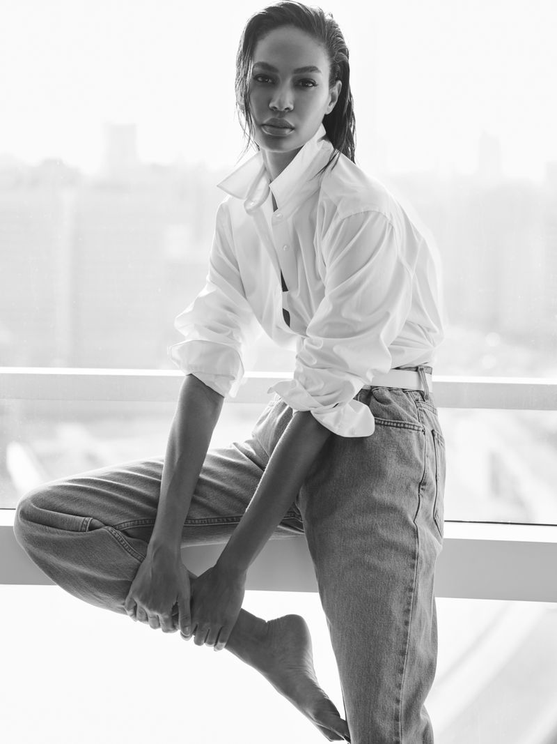 Joan Smalls Wears Pared Down Style for Emirates Woman