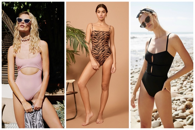 Sexy one-piece swimsuits