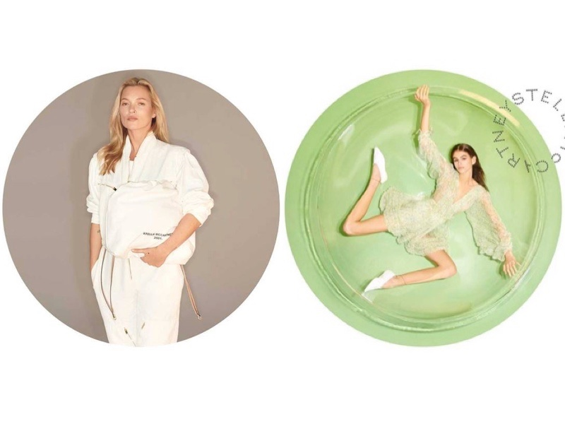 Kate Moss & Kaia Gerber Star in Stella McCartney Spring '19 Campaign