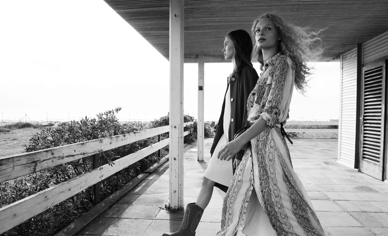 Frederikke Sofie and Lex Herl star in Massimo Dutti resort 2019 collection