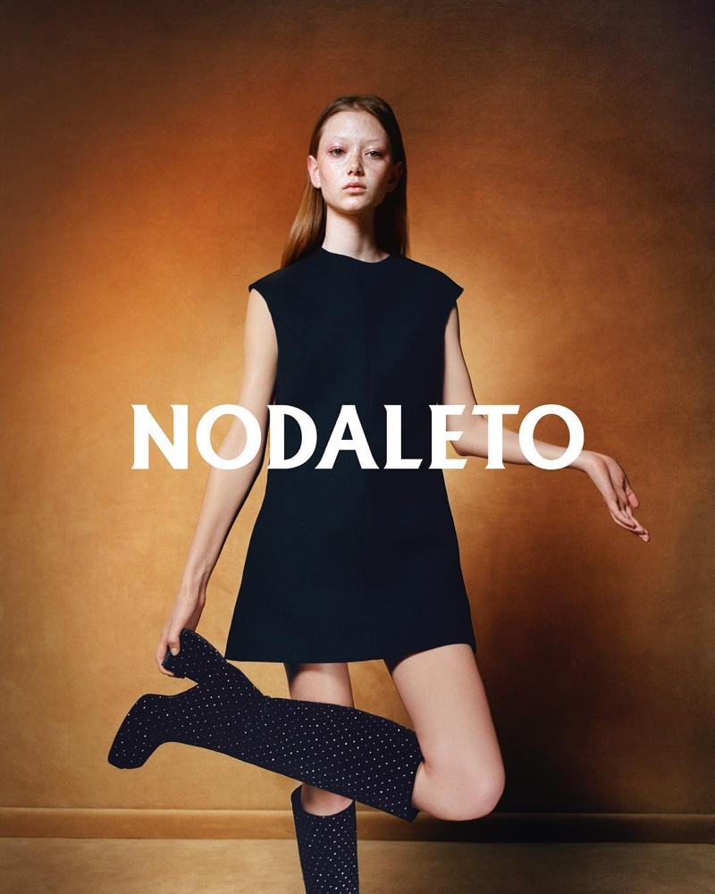 Sara Grace Wallerstedt stars in debut Nodaleto campaign